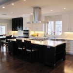 Large kitchen design